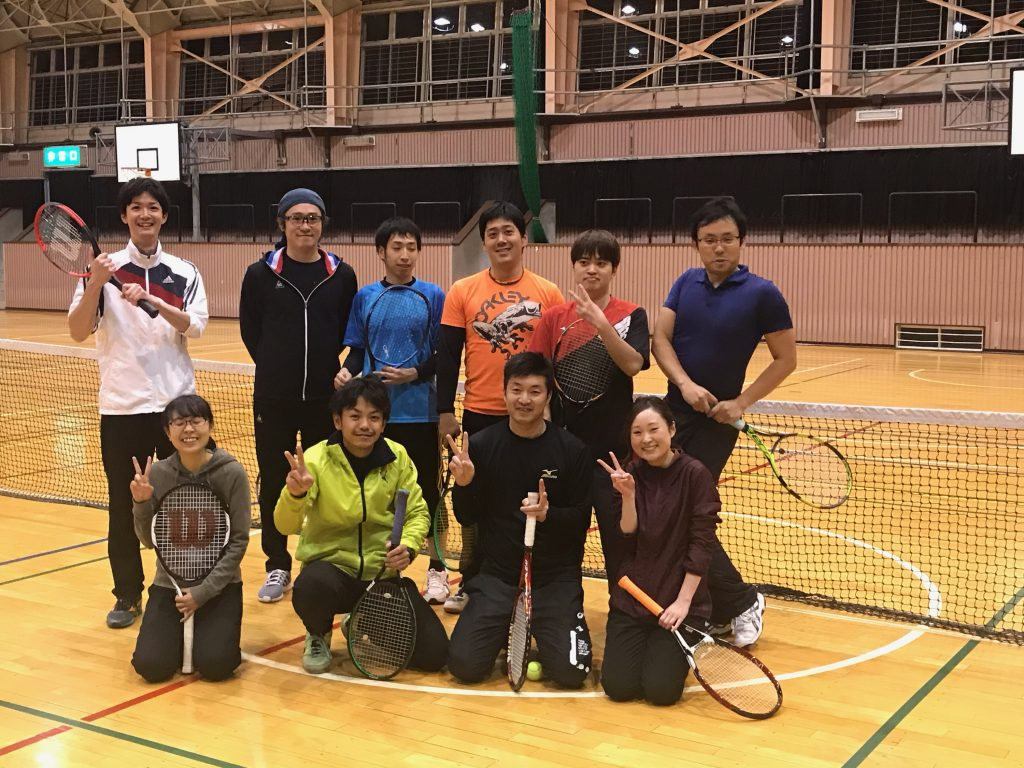 硬式テニス初級者コース(全6回)